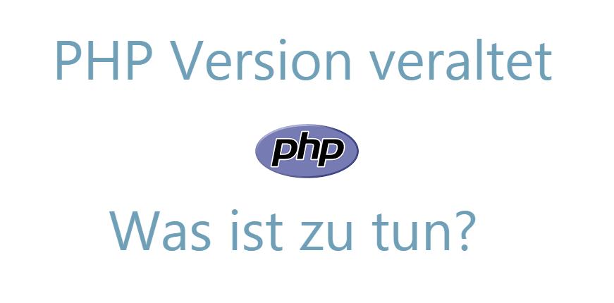 veraltete_PHP_Version